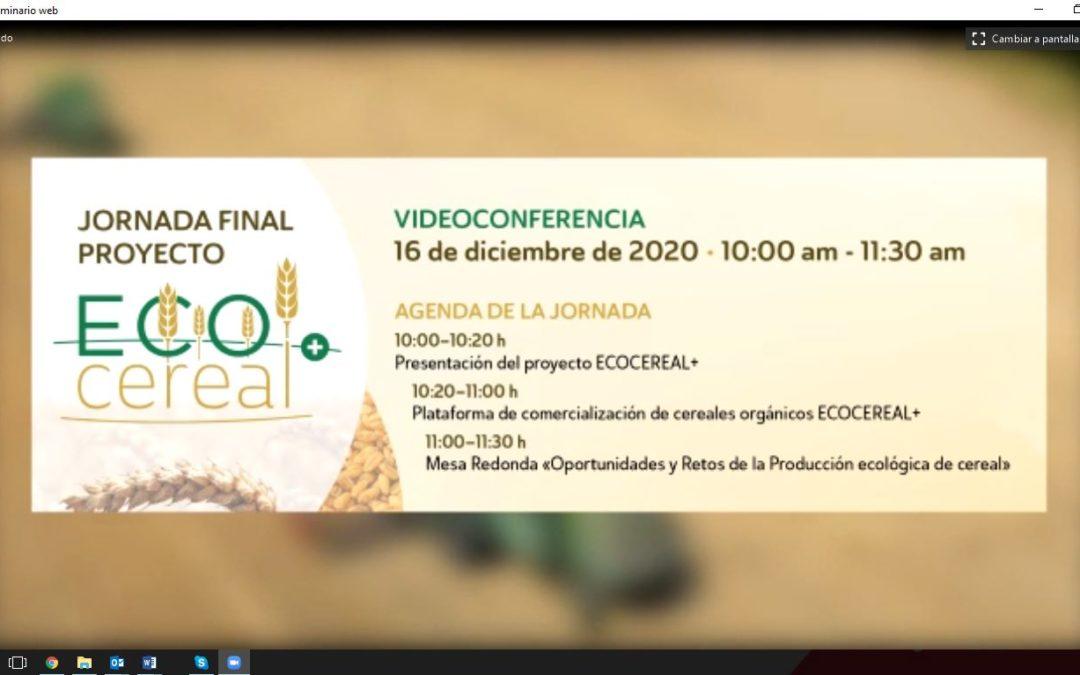 Celebración de jornada final del proyecto ECOCEREAL