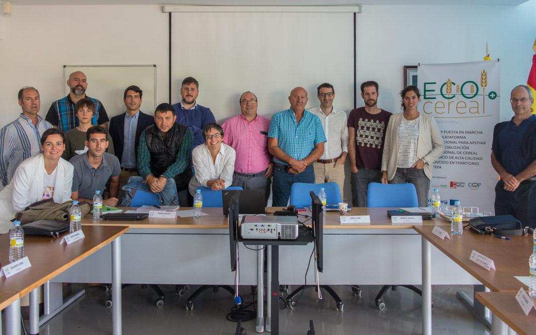Segunda reunión de la mesa de trabajo ECOCEREAL+