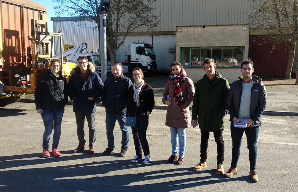 ECOCEREAL+ visita las cooperativas agrícolas en Francia