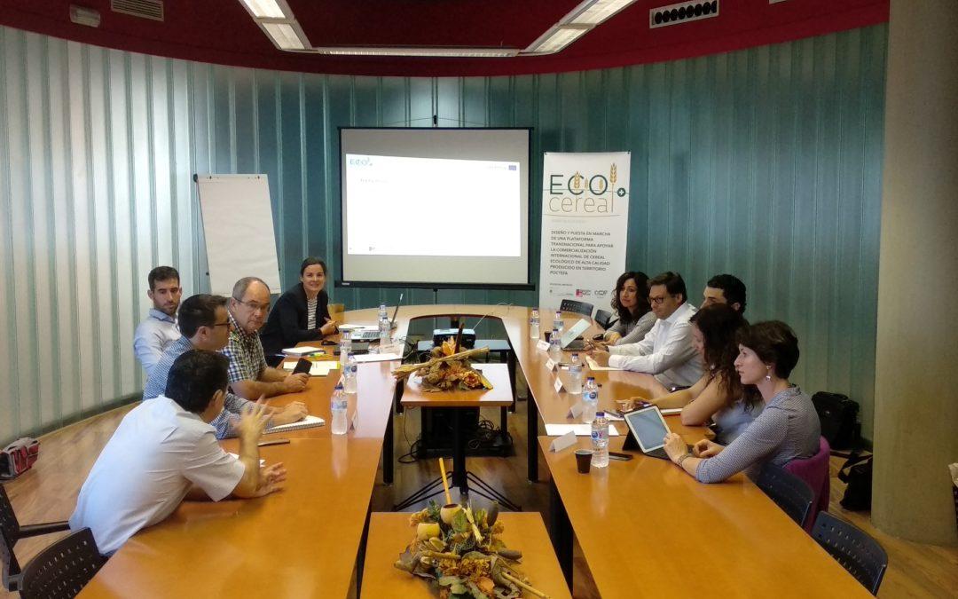 Constitución de la mesa de trabajo ECOCEREAL+