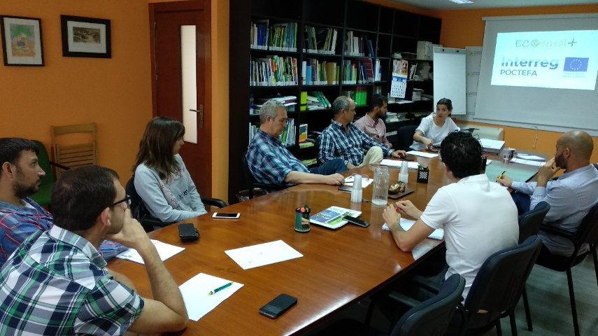 Presentación del proyecto ECOCEREAL+ a la Federación Aragonesa de Cooperativas Agrarias (FACA)